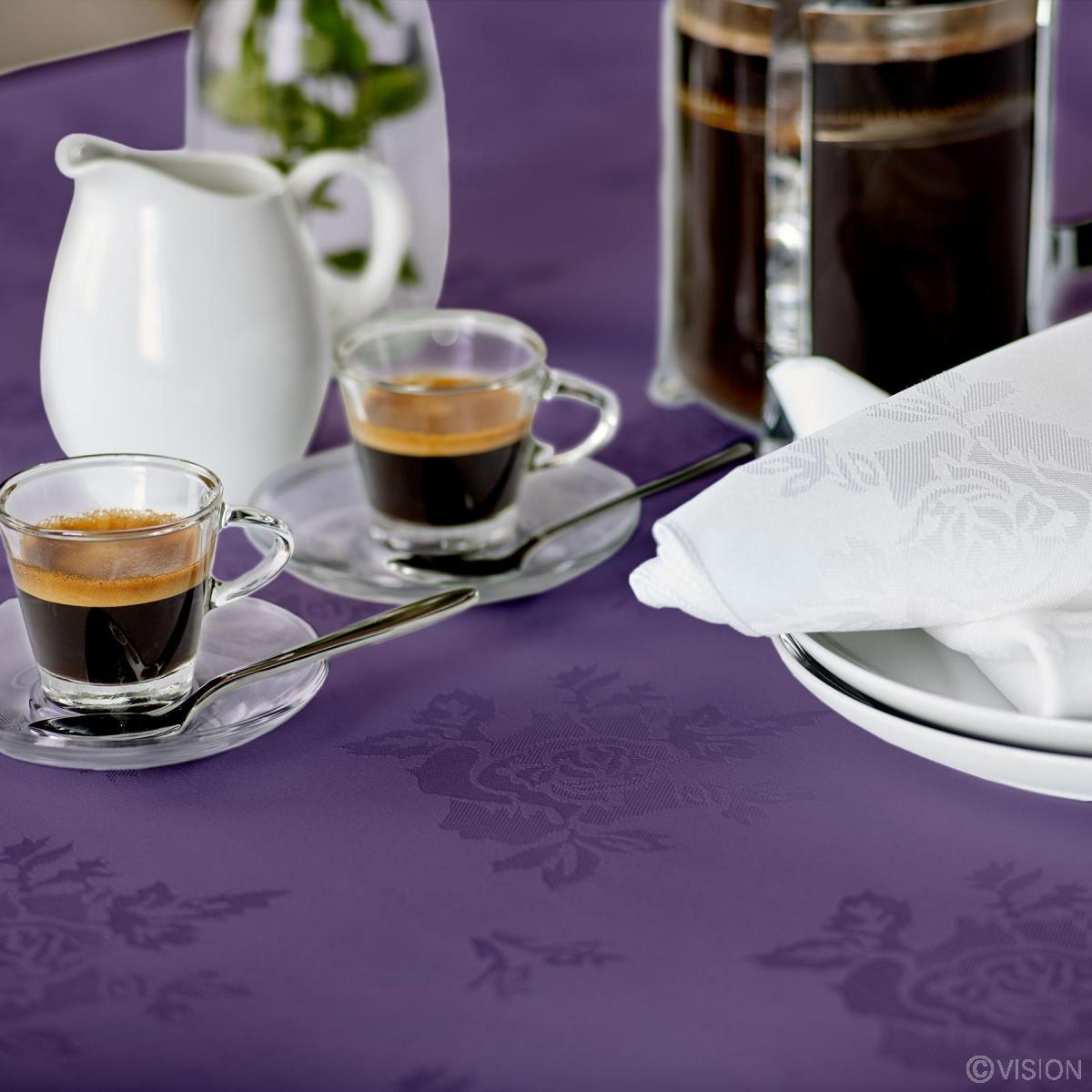 Apollo Rose Bistro Tablecloths Purple
