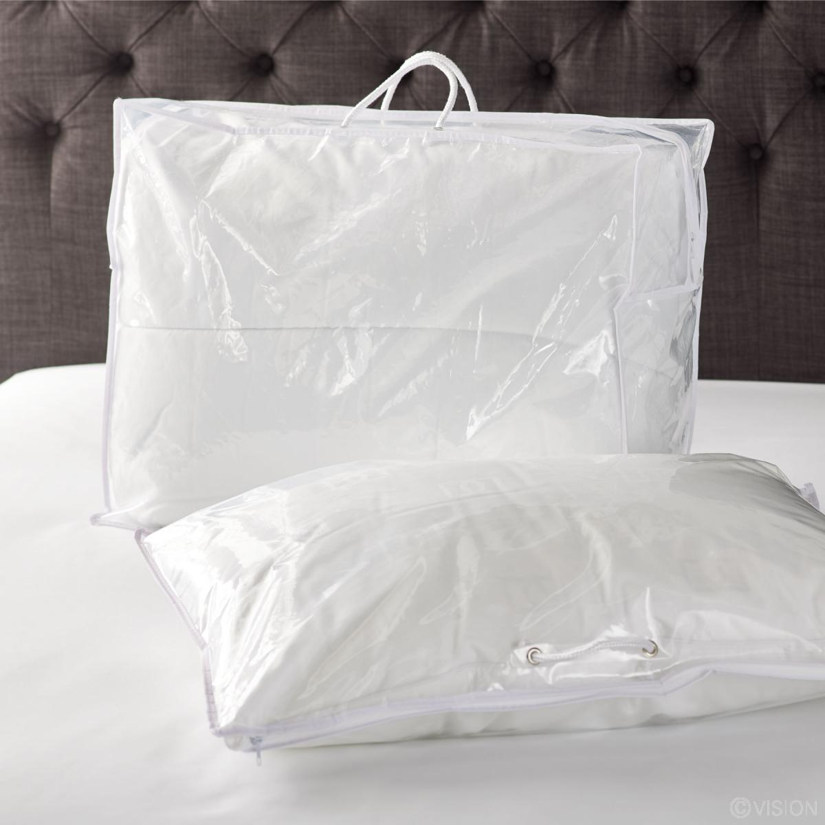 Blanket pillow storage bags & Buy Blanket u0026 Pillow Storage Bags with Zips u0026 Handles