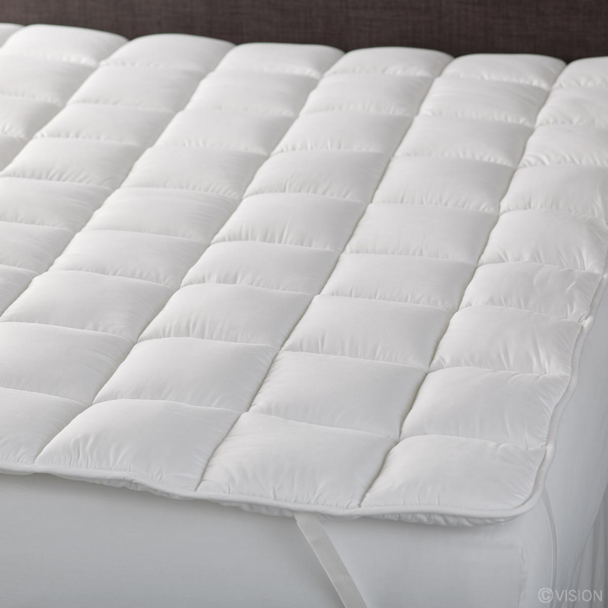 mattress texture. Deep Filled Mattress Topper Pad Texture N