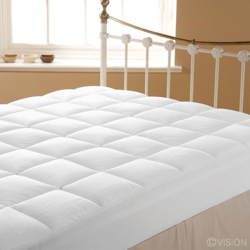 Liddell plush mattress enhancer