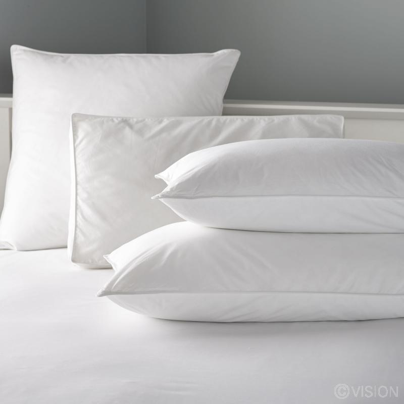 Sheer lux pillows
