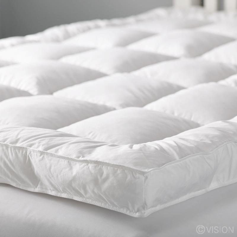 Sheer lux mattress enhancer pad