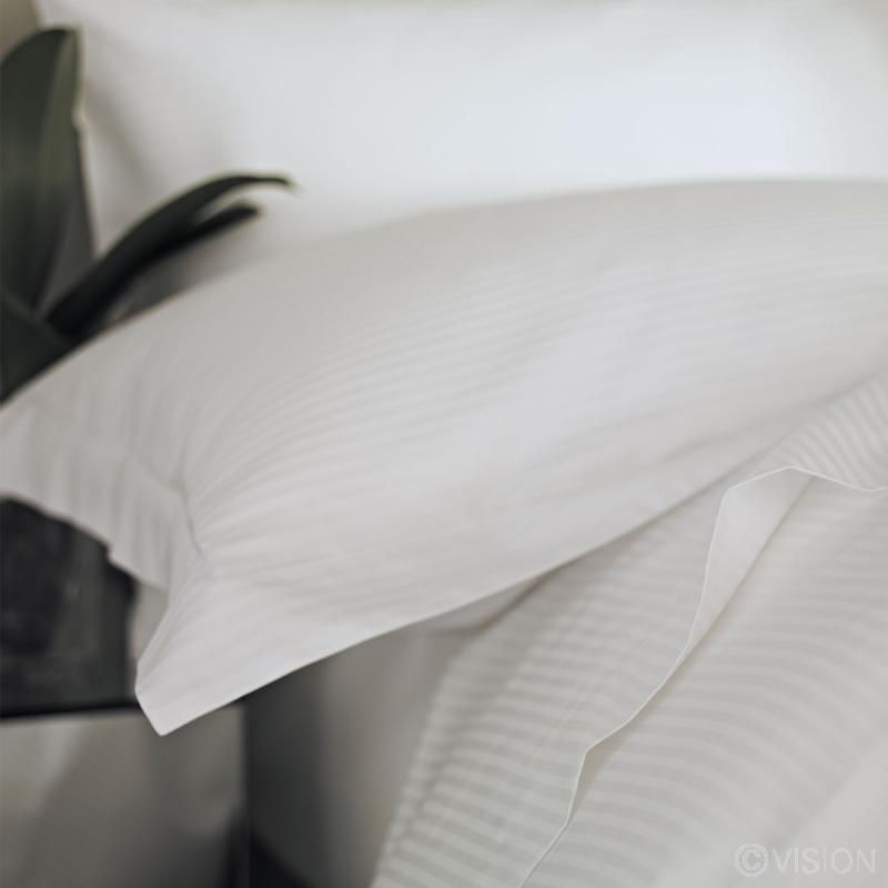 Liddell Linear satin stripe pillowcase
