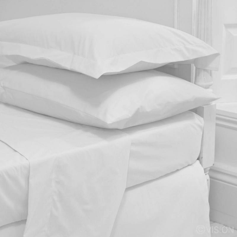 Luxury Plain Sateen Flat Sheets (Queen Size)
