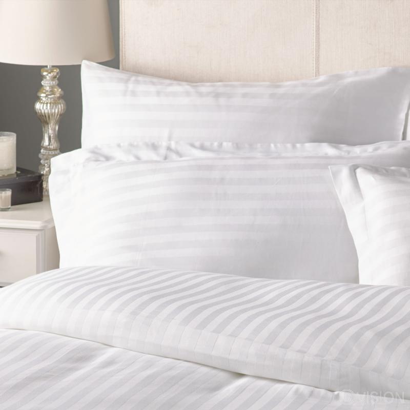 Milan 25mm satin stripe pillowcase