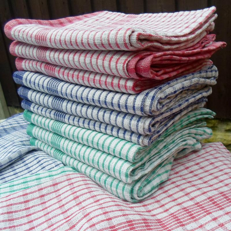 Superdry Check Kitchen Tea Towel