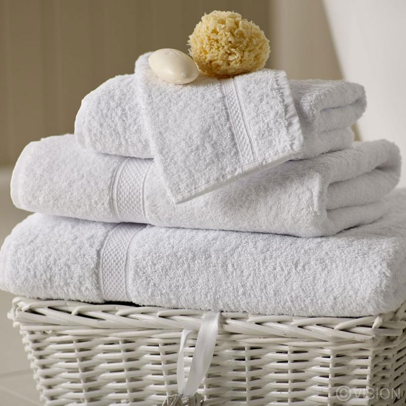 Renoir 100% Cotton Face Cloth - White