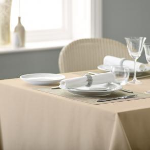 Alpha bistro plain coloured tablecloths