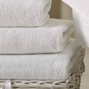 Cambridge White 100% Cotton Bath Towel