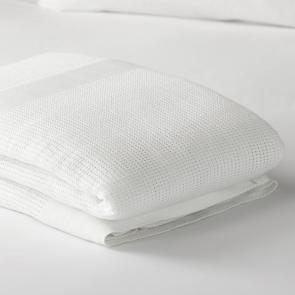 FR Polyester Cellular Blanket Detail