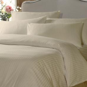 Molveno Satin Stripe Single Duvet Cover
