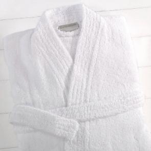Kingston large white Bathrobe - Detail