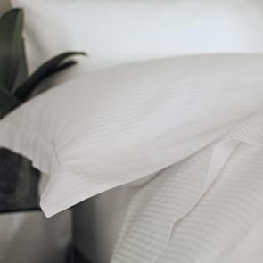 Liddell Linear satin stripe pillowcase