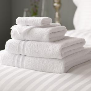Lowry 100% Cotton Bath Sheet - White
