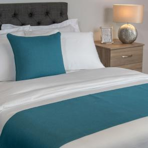 Nightingale Coloured Classic Bed Runner - Kingfisher