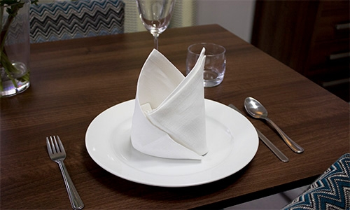 The Pyramid Napkin