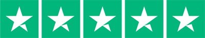 TrustPilot 5 star rating